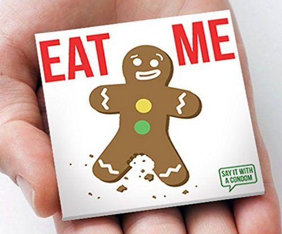 """Prezervativ """"Eat Me"""""""