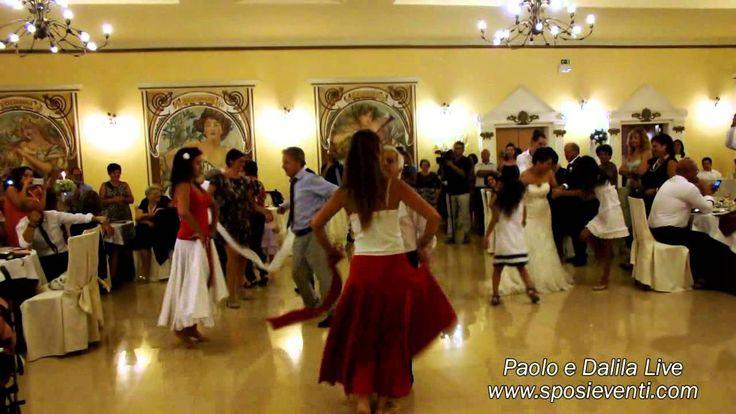 Spettacolo per matrimonio ballerine pizzica lecce