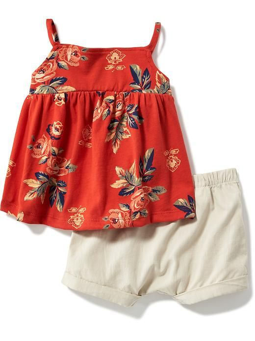 2-Piece Tank and Bloomers Set for Baby  Product Image