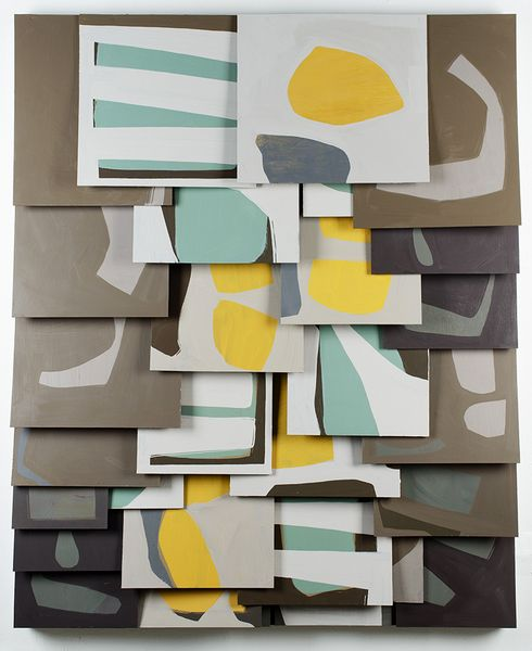Untitledoil painting by Raymond Saá | 2015,  oil on wood panels76.0 x 62.0 in