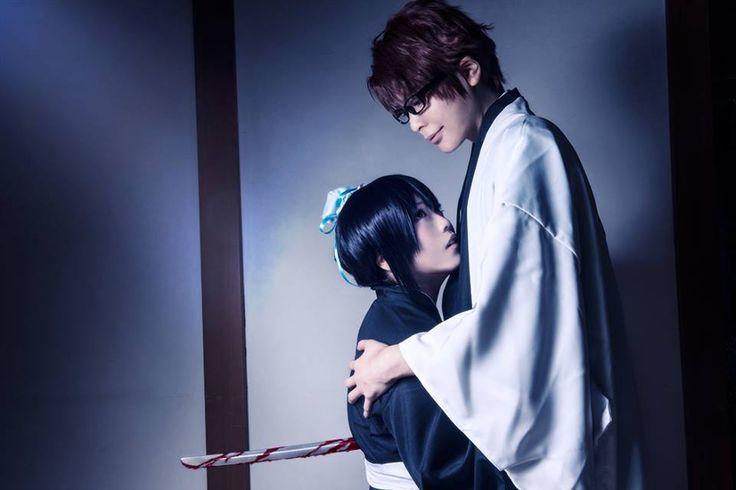 Aizen Sosuke & Momo Hinamori cosplay