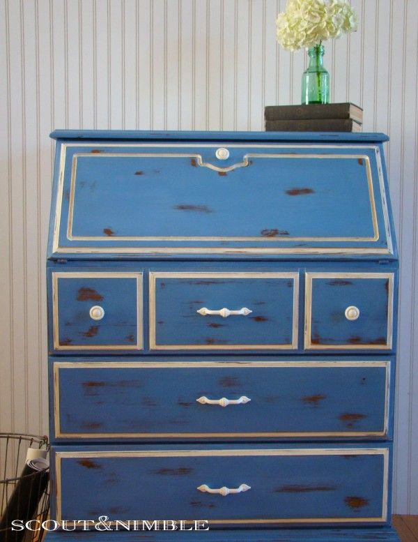 greek blue painted furniture painted furniture pinterest