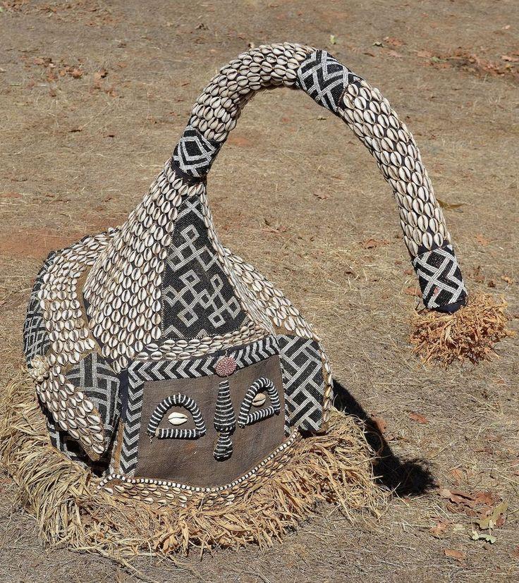 Africa Map Congo River%0A Huge Kuba Mukenga   Mukyeem mask Elephant Helmet Mask  Congo  Africa