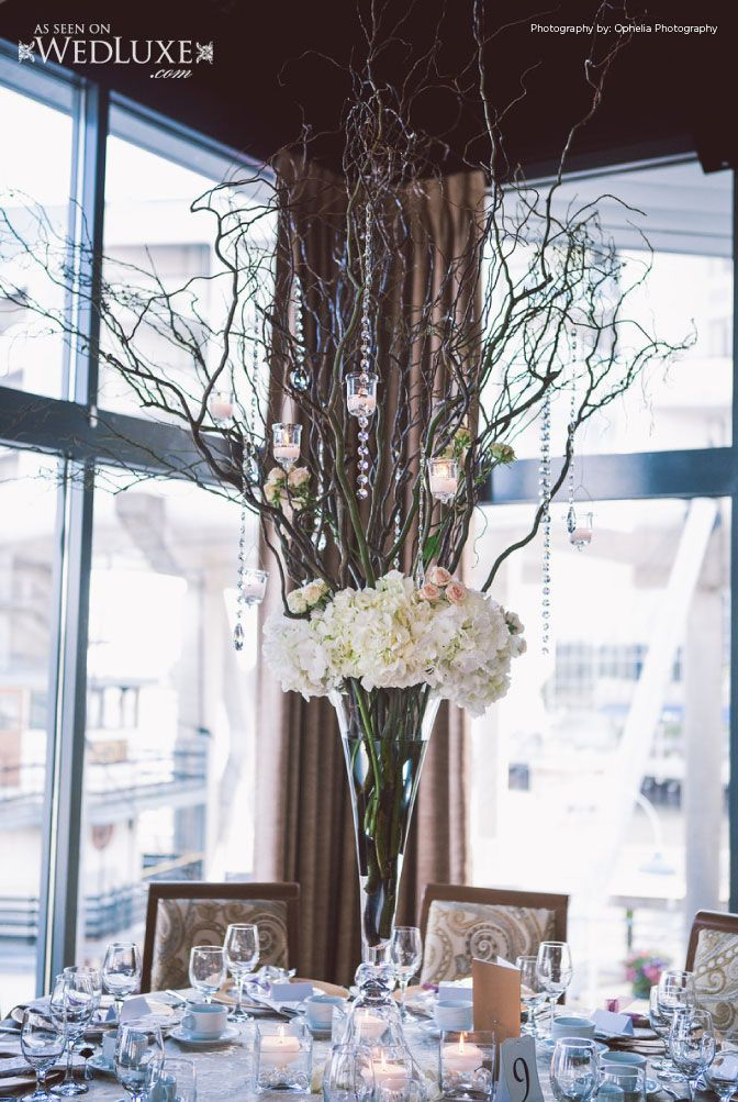 This Centrepiece Was Inspired By An Enchanted Forest With Florals The Wedding Design Studio