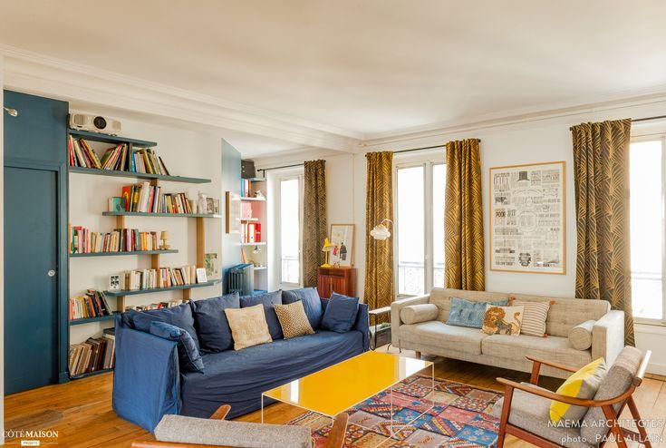 FONTAINE, Paris, maéma architectes - architecte d'intérieur