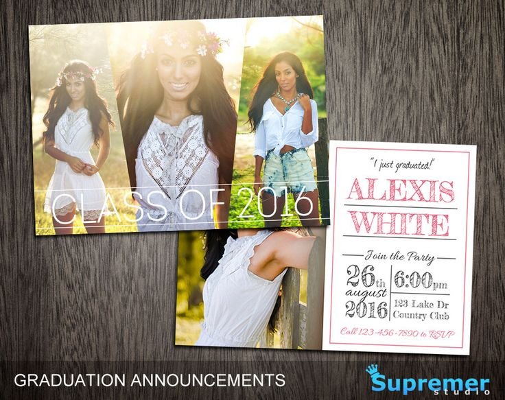 The 25+ best Graduation templates ideas on Pinterest Graduation - announcement template free
