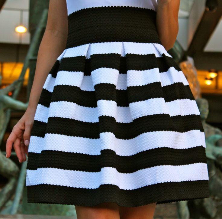 black & white looks