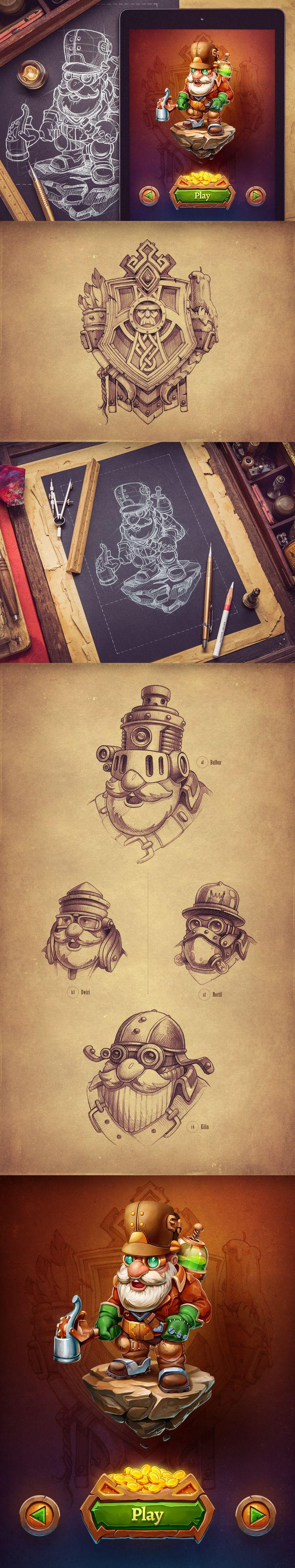 Ios rpg character design
