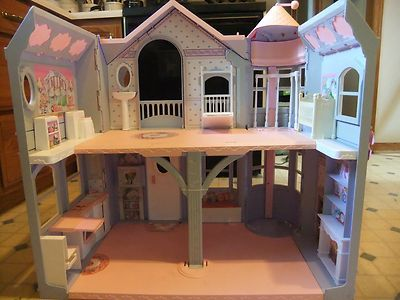 This is done well. This is the way it is supposed to look:  2000 Mattel Barbie Dream House with Elevator RARE | eBay