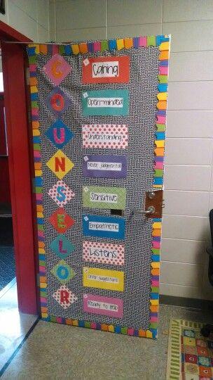 Counselor door