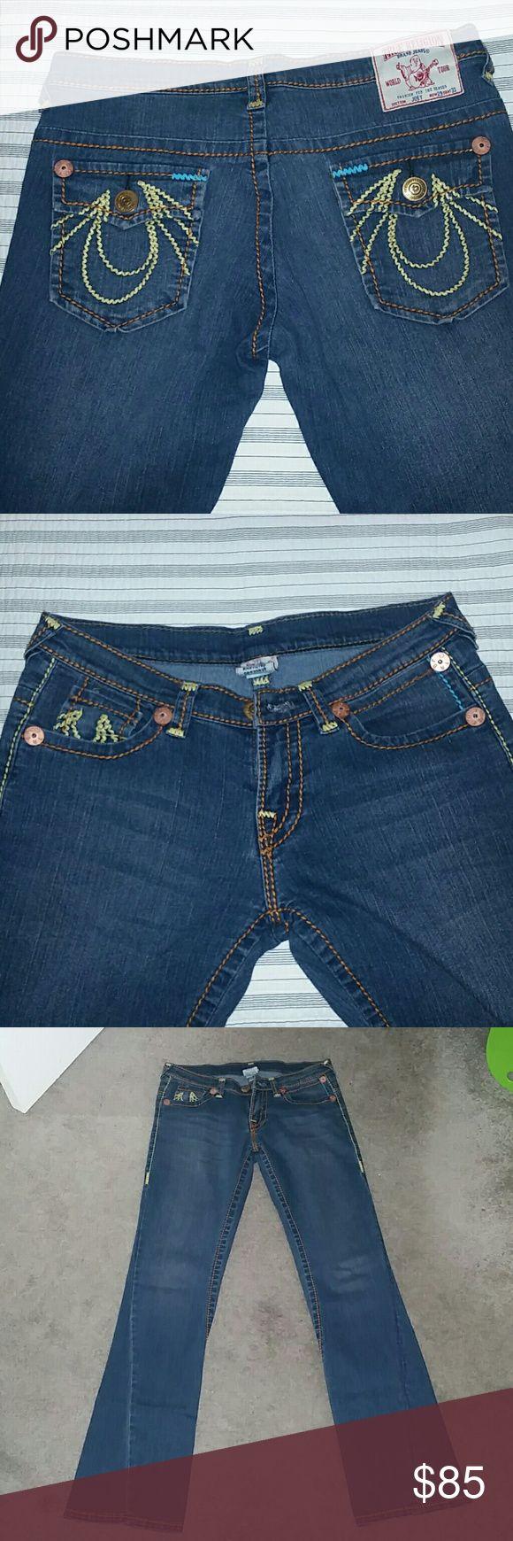 True religion women jeans True Religion Joey jeans size 29 length 33.. in great condition.. True Religion Pants Boot Cut & Flare
