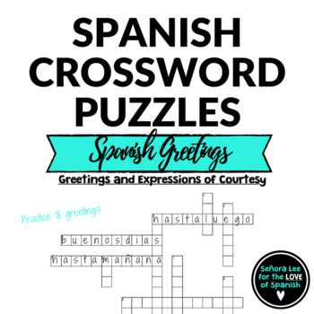 flirting quotes in spanish crossword puzzle answers questions