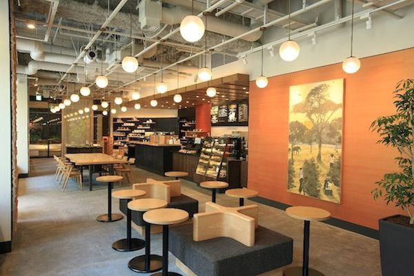 In Japan, Starbucks Opens Japanese Craft-Inspired Outlet - DesignTAXI.com