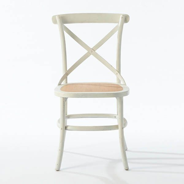 Hamptons cafe chair with oak seat. Available online or in store. http://www.shack.com.au/contact-us