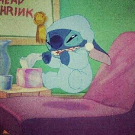 Mad Stitch..........but he is still so adorable   Stitch ...