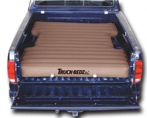 """Truck-bedz new Weekender series , the affordable solution, heavy duty PVC vinyl and 2 stage boat valves. 96"""" long fits all 8' Longbeds including: * Chevy Silverado 1988-current * Ford F250/F350 Series 1982-current * Dodge Ram 1969-current * GMC Denali & other LB models 1988-current * Toyota Tundra 1999-current and other truck models with 8' beds * Also fits full size vans with 8' beds Features: * World's leading patented valve technology * convenient * Inflate in roughly 60 seconds * variety…"""