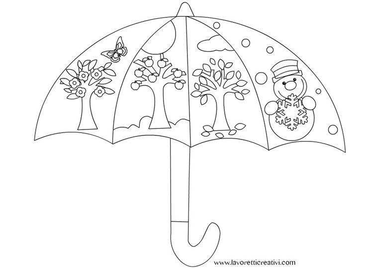 4 seasons Umbrella