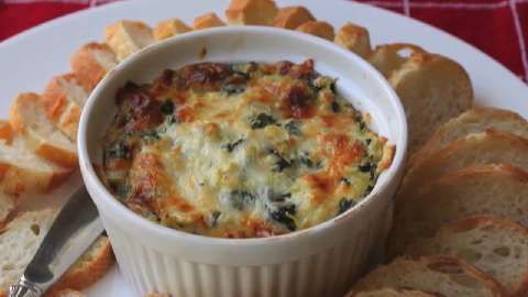 The spinach and artichoke dip!