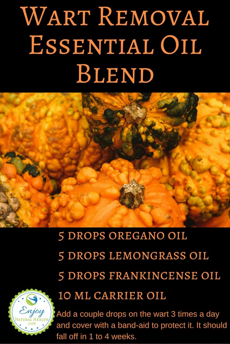 Get rid of those unsightly warts with this quick and easy to make essential oil blend.