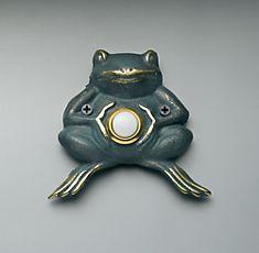 Door bell frog #doorbell