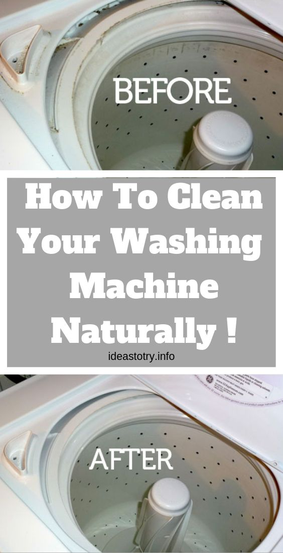 How To Clean Your Washing Machine Naturally ! – Cleaning Hacks !
