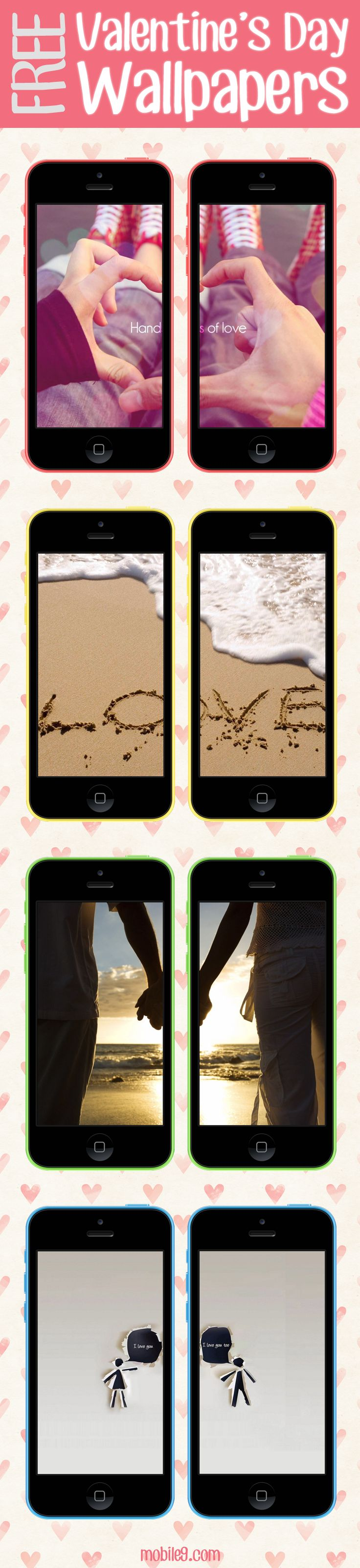Round galaxy iphone 6 6 plus and iphone 5 4 wallpapers - In Love Couple Wallpapers Wallpaper For Iphone