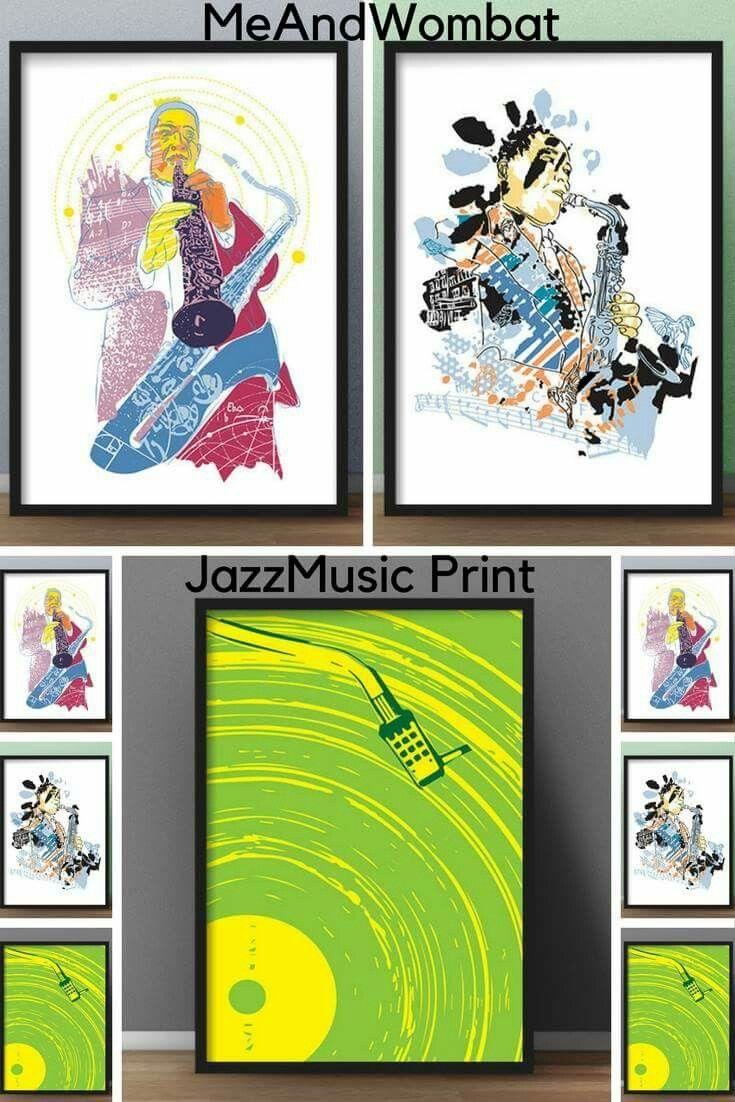 #Jazzposter #GiftUnder30 #JazzPrint #WallArtPrint #DigitalDownload #MusicPrints  #ideas #Сhristmas #gift
