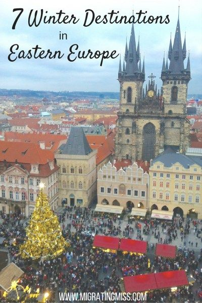 7 Winter Destinations in Eastern Europe - Migrating Miss