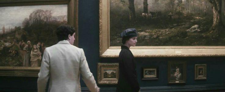 Alicia Vikander (Vera Brittain) & Kit Harington(Roland Leighton) - Testament of Youth (2015) directed by James Kent