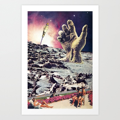 New Cydonia: Rise of the Ancients Art Print by Eugenia Loli - $12.99