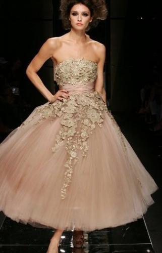 71 best romantic blush fashion style images on pinterest for Elie saab blush wedding dress