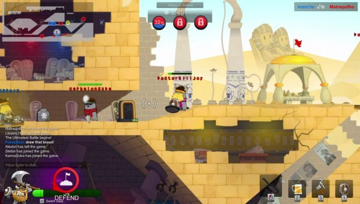 The Ultimatest Battle is a Action Free-to-play FPS Shooter Multiplayer Game featuring small zany characters, called Nubs