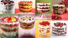 Uma versão mais tradicional do naked cake, o trifle cake é uma clássica receita inglesa, muito fácil de fazer, versátil e deliciosa. Consiste básicamente em camadas alternadas de pão de ló umedecido com calda, geléia de frutas vermelhas e creme de confeiteiro, finalizado com...