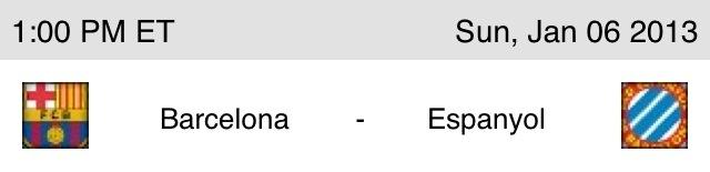 Upcoming match-Barcelona vs. Espanyol