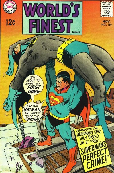 Cover for World's Finest Comics (DC, 1941 series) #180