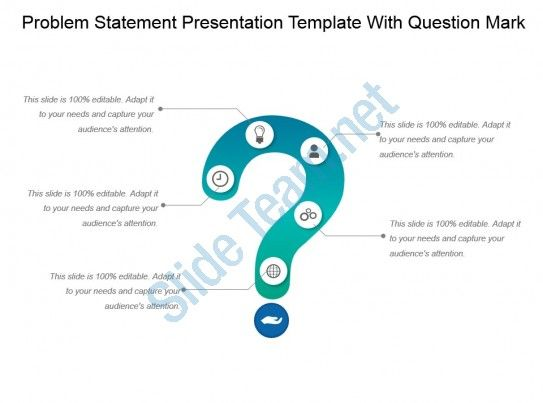 Problem Statement Presentation Template With Question Mark Ppt Ideas Slide01 Problem Statement This Or That Questions Templates