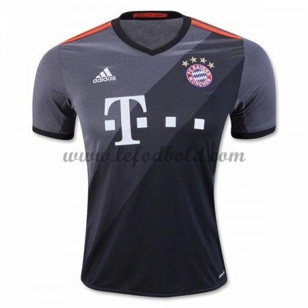 Billige Fodboldtrøjer Bayern Munich 2016-17 Kortærmet Udebanetrøje