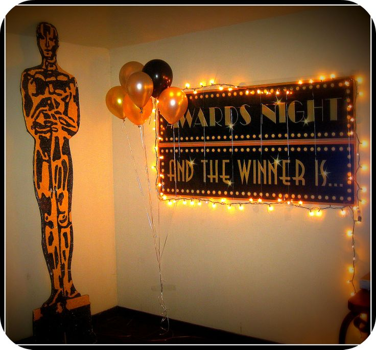 Best 20 oscar themed parties ideas on pinterest for Awards decoration