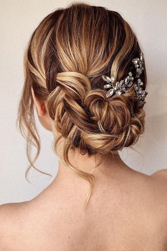 30 Wedding Hairstyles Ideas For Brides With Thin Hair Brides Hair Hairstyles Ideas Thi In 2020 Hochsteckfrisur Frisur Hochgesteckt Brautfrisur