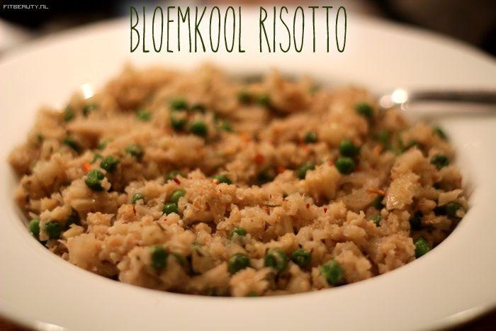 Recept: Bloemkool Risotto