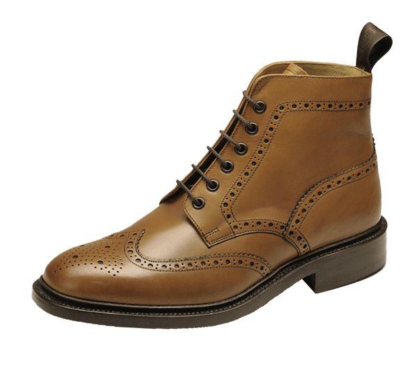 Loake Burford - F (Average) Fitting · Leather BroguesTan LeatherStyle  EssentialsMen's BootsAnkle ...