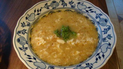 Krkonošská drožďová polévka
