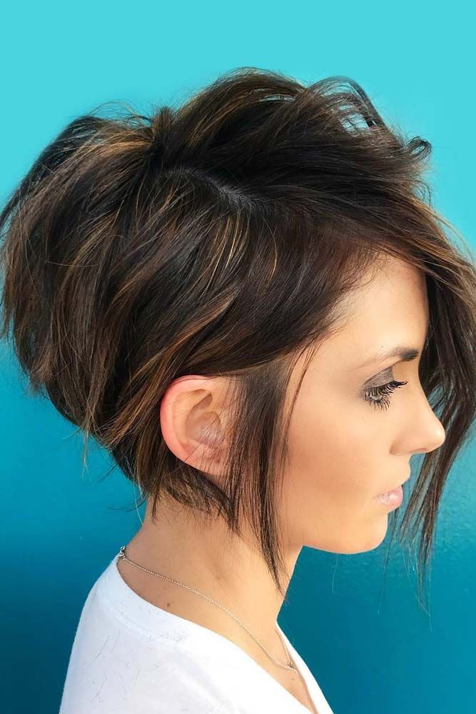 Women pictures of short hairstyles for girls bathroom