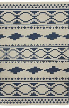 At Rugs USA Capel Heirs Tribe Bokrum Blue Rug Home decor, interior design, style, create, inspire, southerwestern, modern, area rugs, house, home, design, decorate.