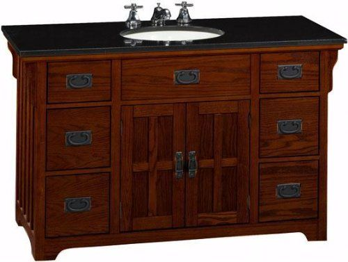 Craftsman Style Vanity Cabinet Craftsman Style Pinterest Craftsman Craftsman Bathroom And