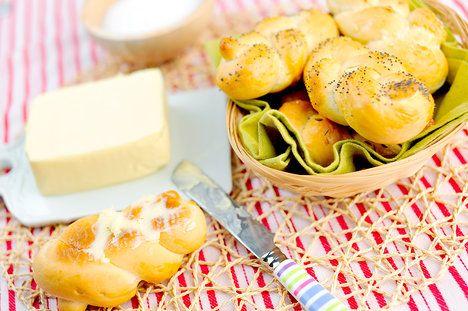 Domácí houstičky stačí namazat máslem a lahodná svačina je na světě; Greta Blumajerová