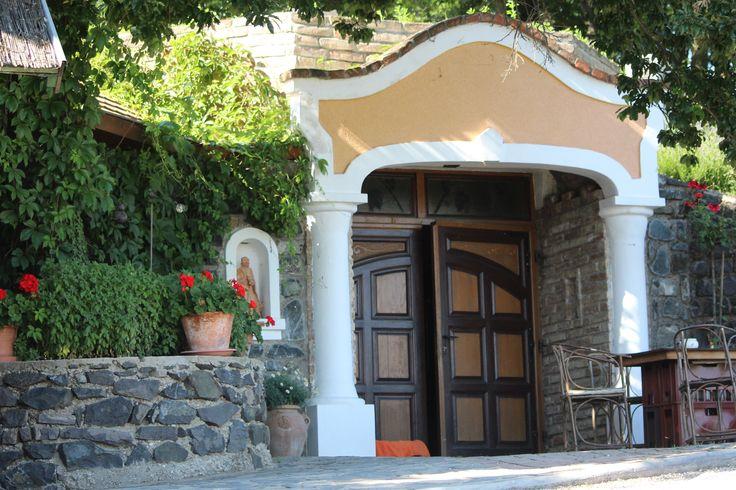 Entrance of the Istvandy winery's cellar, Kaptalantoti
