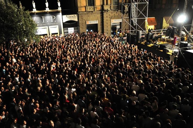On stage! #GiuseppeBarbera #Arisa #Amami #concert #pianist