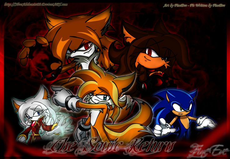 tails the fox sonic x