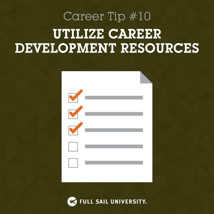 Seek Out Assistance From Your Career Development Department. They Provide A  Wealth Of Industry Experience